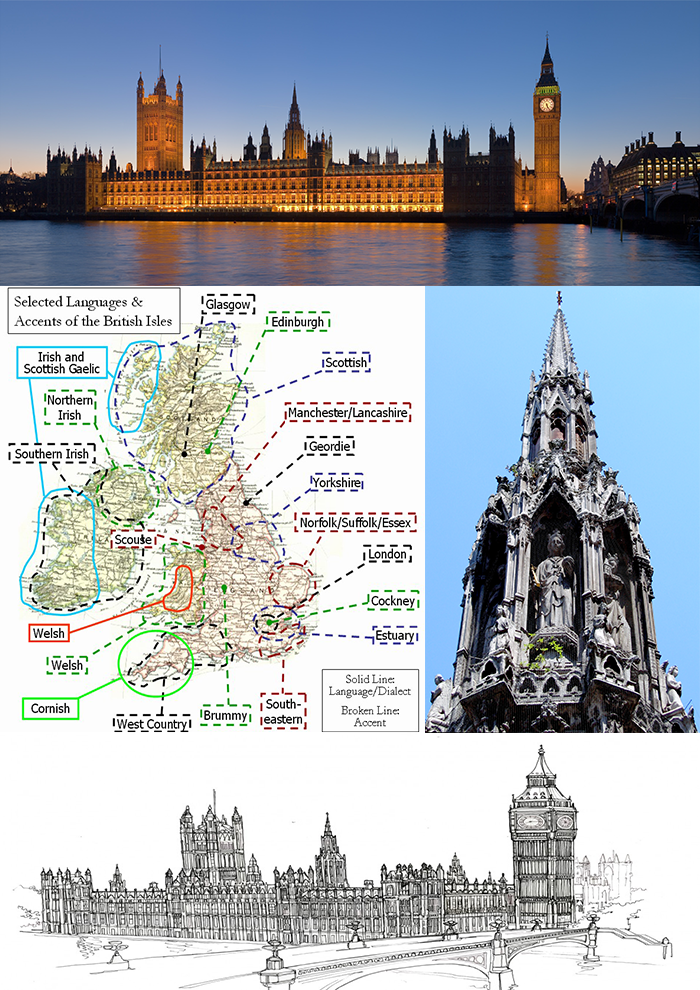 6 curious facts about the UK